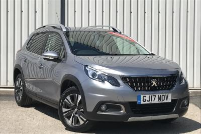 Peugeot 2008 1.2 PureTech (82bhp) Allure Station Wagon Petrol Cumulus Grey MetallicPeugeot 2008 1.2 PureTech (82bhp) Allure Station Wagon Petrol Cumulus Grey Metallic at Gateway Peugeot Crewe Crewe