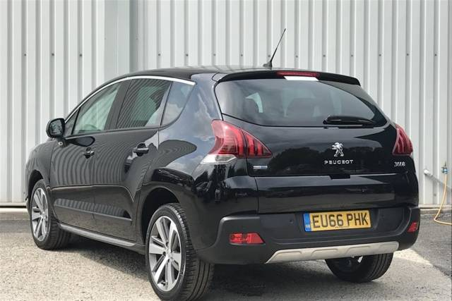 Peugeot 3008 1.6 BlueHDi 120 Allure s/s Hatchback Diesel Nera Black Metallic