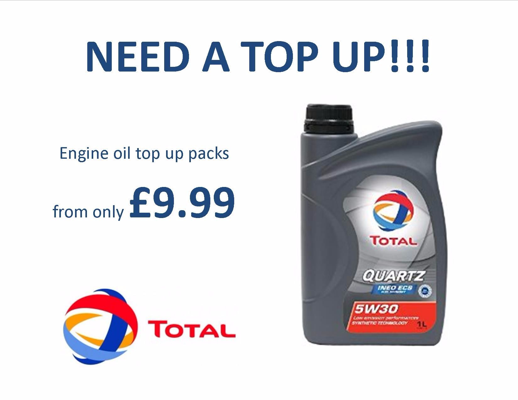 Oil Top Up Packs