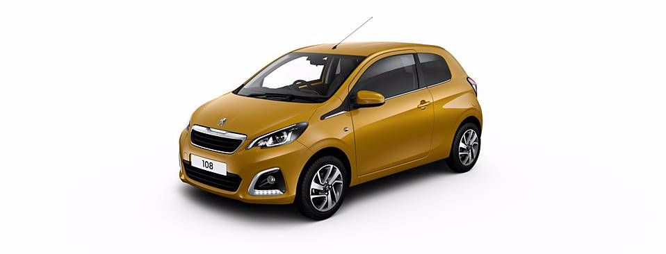 Peugeot 108: Going for Gold