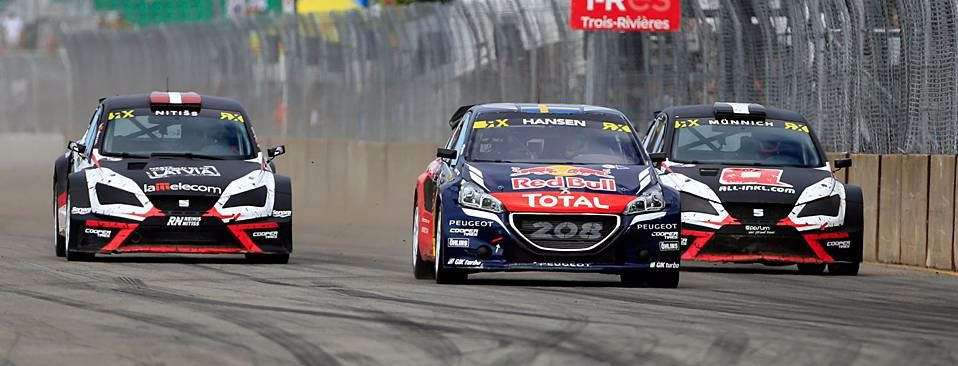 Peugeot 208 WRX takes Canada victory in the hands of Timmy Hansen