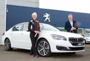 New Peugeot gives Judy Murray the advantage