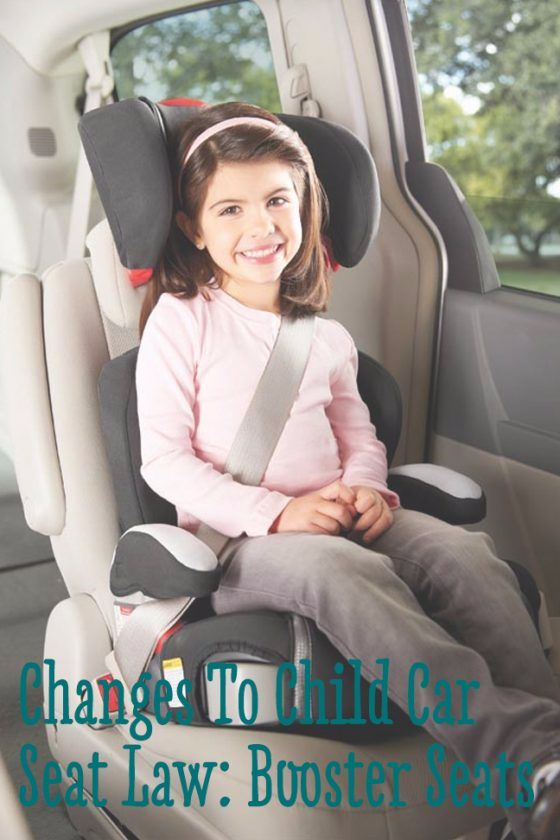 Changes to Children's Car Booster Seats