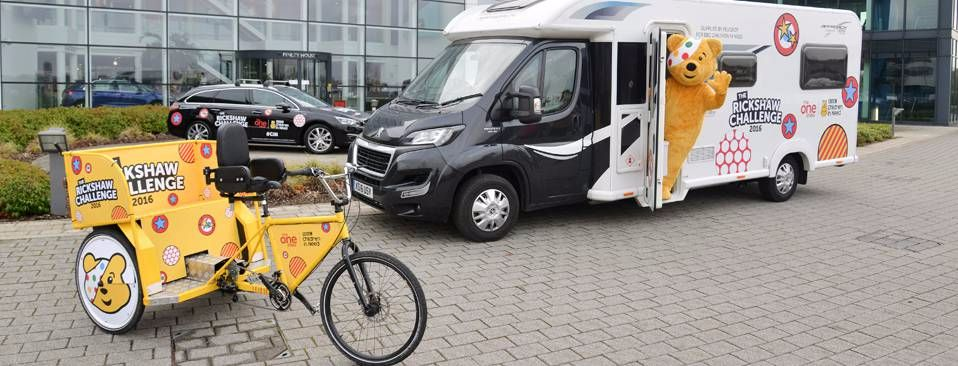Peugeot Supports the One Shows 'Team Rickshaw' again