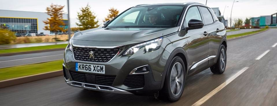The all-new Peugeot 3008 SUV 'Carbuyer Car of the Year 2017'