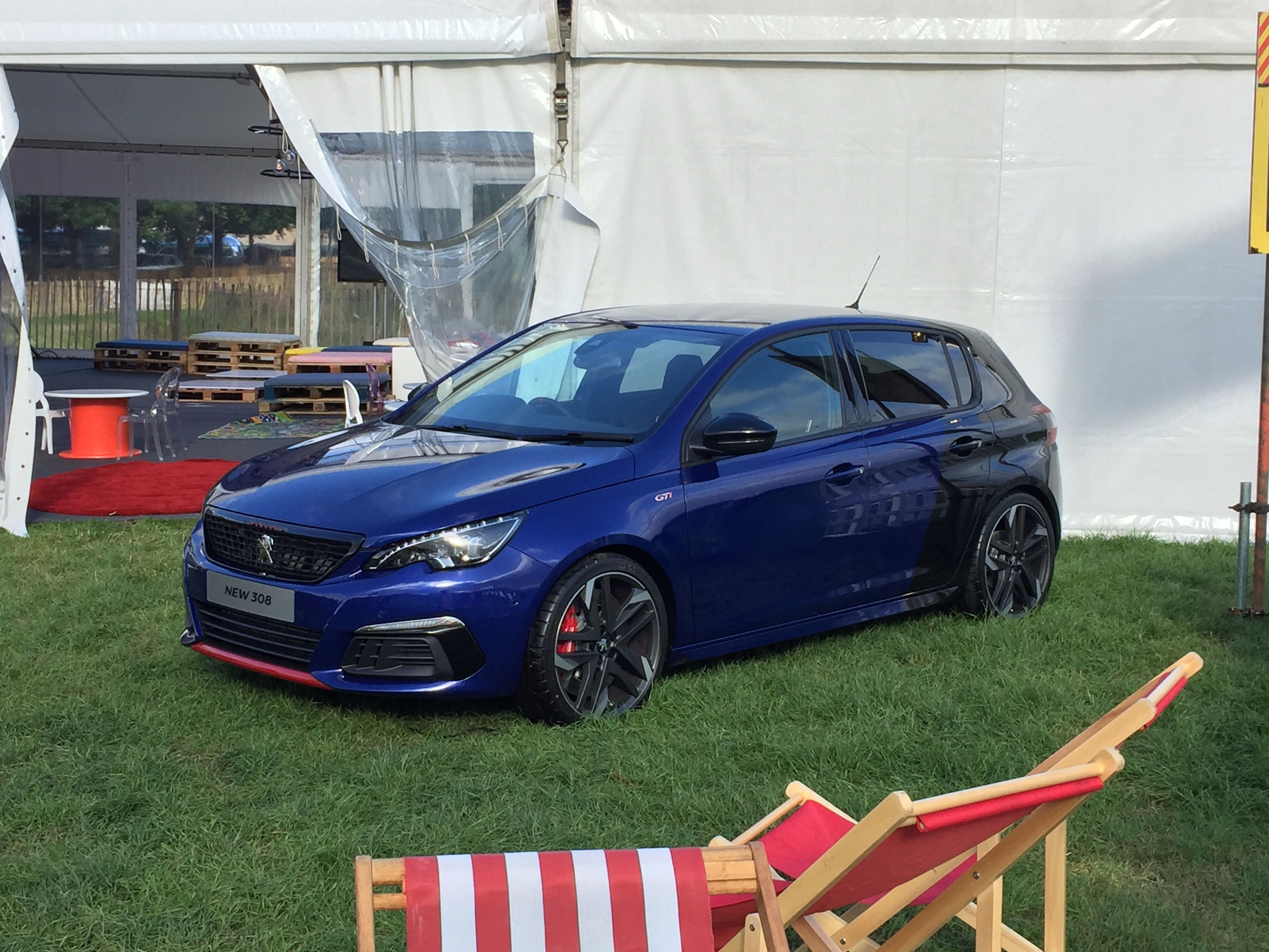 New 308 at Carfest North
