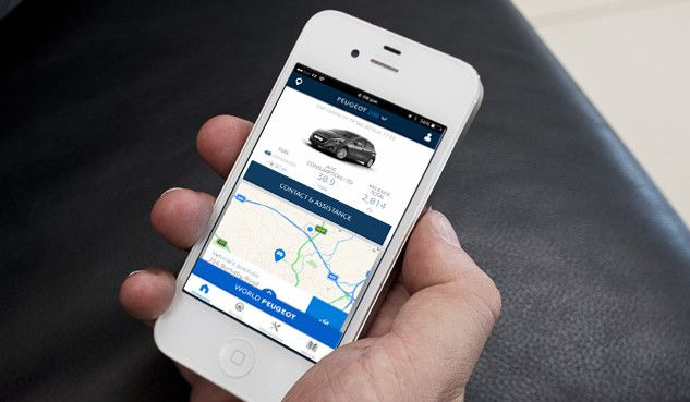 DISCOVER THE MYPEUGEOT APP TODAY